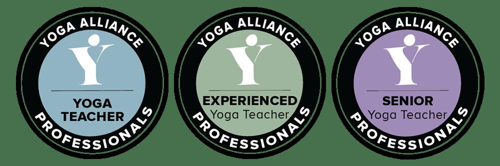 Yoga Alliance Benefits - Stamps