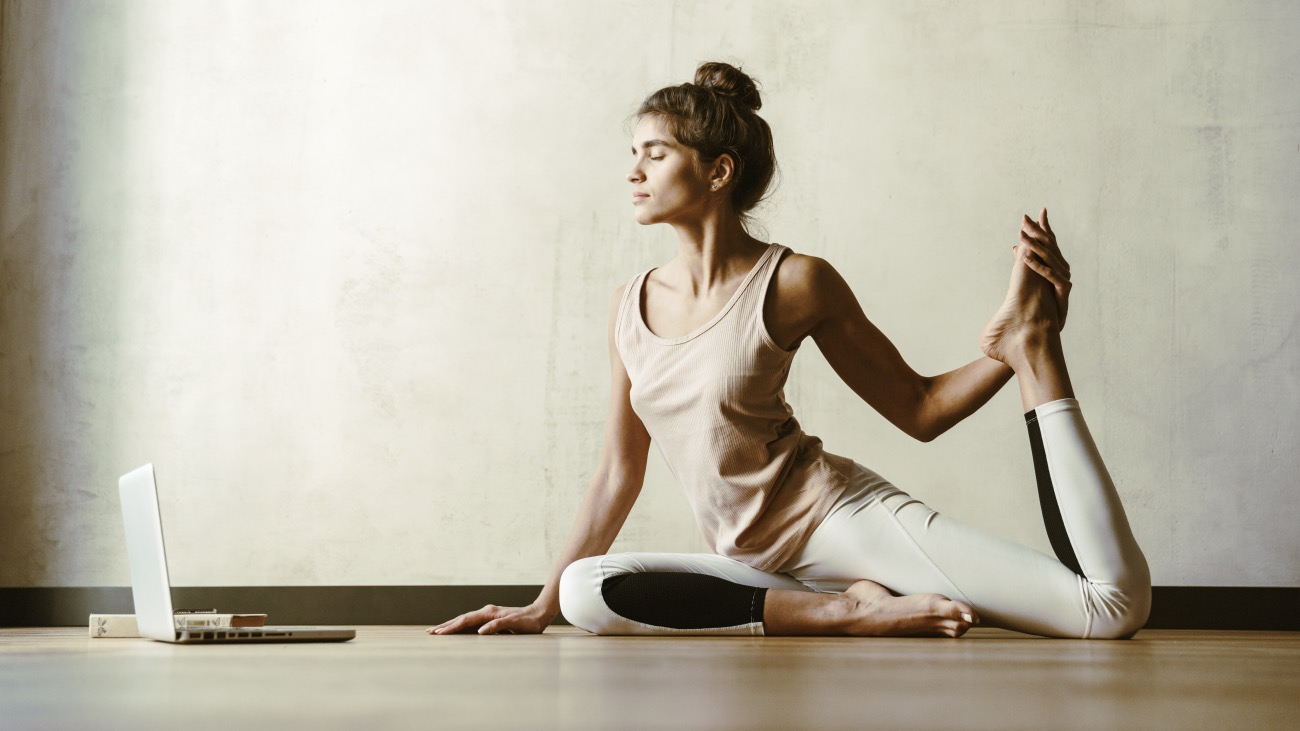 how to set up online yoga classes